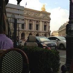 Photo taken at Café de la Paix by Lily K. on 6/10/2013
