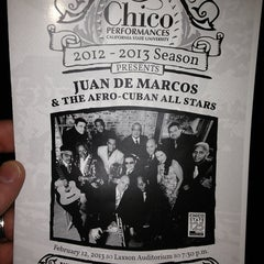 Photo taken at Laxson Auditorium by Chris C. on 2/13/2013
