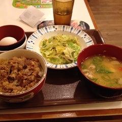 Photo taken at すき家 鹿児島下荒田店 by 123kmorita !. on 12/17/2013