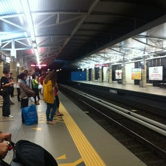 Photo taken at RapidKL Hang Tuah (ST3) LRT Station by Gracie C. on 12/1/2012