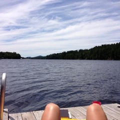 Photo taken at Long Lake by Stephanie E. on 7/26/2013