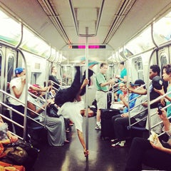 Photo taken at MTA Subway - L Train by Matt D. on 6/15/2013