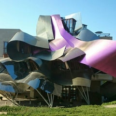 Photo taken at Hotel Marqués de Riscal by Adolfo F. on 7/11/2015
