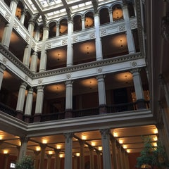 Photo taken at Landmark Center by Nate F. on 10/13/2015