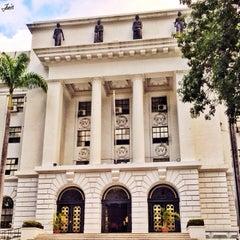 Photo taken at Palacio de Miraflores by JesusSanch on 11/24/2013