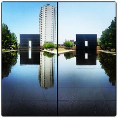 Photo taken at Oklahoma City National Memorial & Museum by Beer P. on 8/2/2013