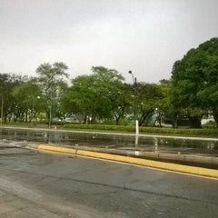 Photo taken at Praça do Centenário by Tony V. on 2/18/2015