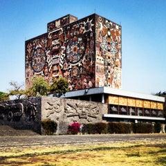 Photo taken at Universidad Nacional Autonoma de Mexico by Kique S. on 4/21/2013