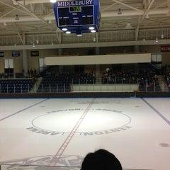 Photo taken at Kenyon Arena by Hannah G. on 2/17/2013