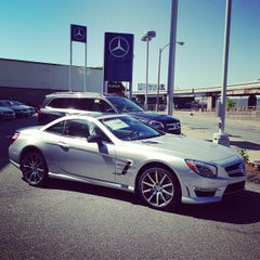 Photo taken at Mercedes-Benz of Boston by Paolo C. on 5/27/2013