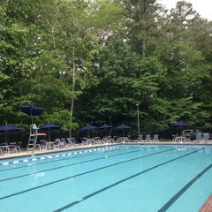 Photo taken at Briarmoor Pool by Yolanda M. on 5/25/2014