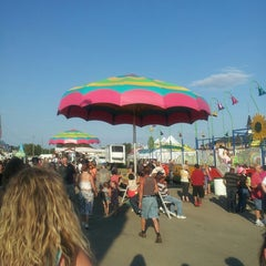 Photo taken at Ionia Fairgrounds by Jacob D. on 7/20/2013