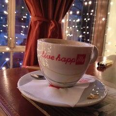 Photo taken at Grand Café Galleron by Krys K. on 12/5/2013