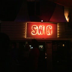 Photo taken at Swig Bar & Eatery by Sherry C. on 2/19/2013