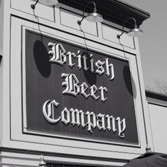 Photo taken at The British Beer Company by Francisco S. on 4/25/2013