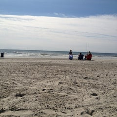 Photo taken at 44th street beach by Chrissi S. on 8/14/2013