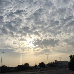 Photo taken at al khoud round about by Lucino O. on 3/11/2014