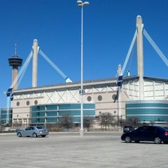Photo taken at Alamodome by Ken E. on 3/3/2013