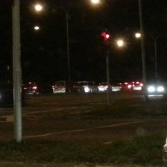 Photo taken at Traffic Light Lido Intersection by Dekyang on 2/22/2014