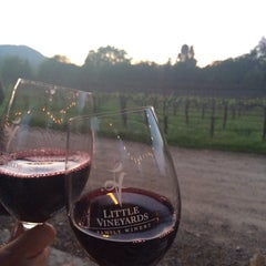 Photo taken at Little Vineyards & Winery by Sylvia on 3/23/2014