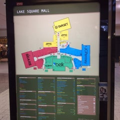 Photo taken at Lake Square Mall by Jorge Ivan D. on 1/16/2014