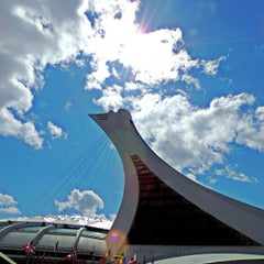 Photo taken at Stade Olympique by Orlando V. on 7/1/2013