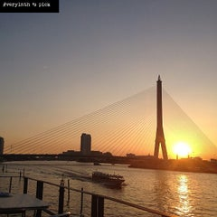Photo taken at Chao Phraya River by veryinth on 3/16/2013