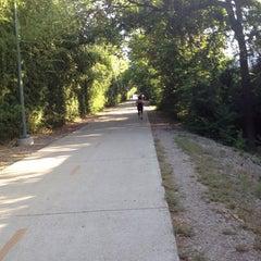 Photo taken at Katy Trail - Fitzhugh Access by Jon C. on 8/31/2014