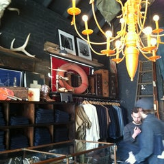 Photo taken at Warby Parker at Imogene+Willie by Greg M. on 2/22/2013