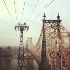 Photo taken at Roosevelt Island Tram by Caroline K. on 11/10/2012
