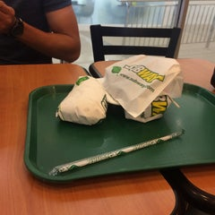 Photo taken at SUBWAY by Muhammad S. on 1/6/2016