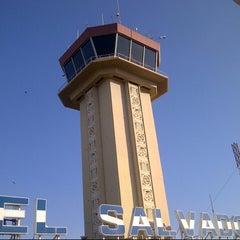 Photo taken at Aeropuerto Internacional Monseñor Óscar Arnulfo Romero (SAL) by Neftaly Y. on 2/10/2013