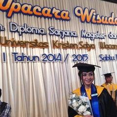 Photo taken at Balairung Utama by Nelly f. on 7/19/2014