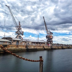 Photo taken at Cockatoo Island by Michael L. on 3/9/2013