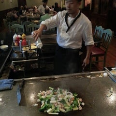 Photo taken at Kyoto Steakhouse by Chris W. on 7/27/2013