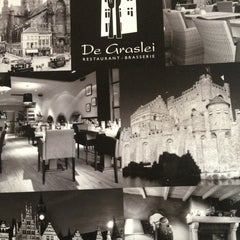 Photo taken at Restaurant De Graslei by Charlotte D. on 3/16/2013