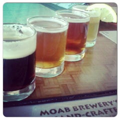 Photo taken at Moab Brewery by Edward H. on 12/21/2012