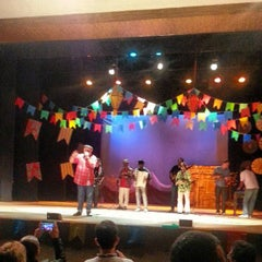 Photo taken at Teatro Municipal Severino Cabral by Dannyelle A. on 6/14/2013
