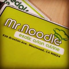 Photo taken at Mr. Noodle by Miranda B. on 8/28/2013