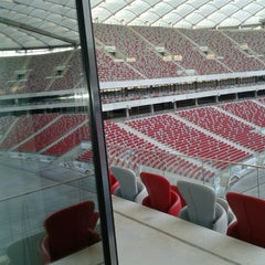 Photo taken at PGE Narodowy by Patrycja S. on 3/5/2013