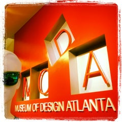 Photo taken at Museum of Design Atlanta (MODA) by Our Libatious Nature on 10/17/2012