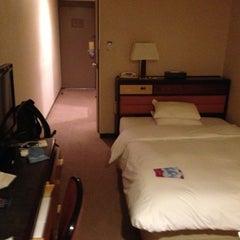 Photo taken at ANAクラウンプラザホテル京都ANA CROWNE PLAZA KYOTO Hotel by Taku 目. on 5/6/2013