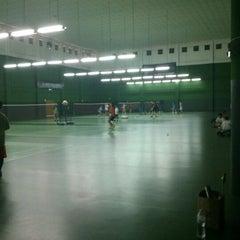 Photo taken at BJGCR Badminton Court by Terry T. on 4/14/2013