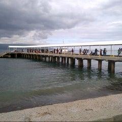 Photo taken at Sibulan Pier (Ferry Terminal) by JosephLou™ on 12/1/2012