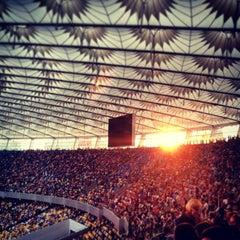 Photo taken at НСК «Олімпійський» / Olimpiyskiy Stadium by Elena R. on 6/29/2013