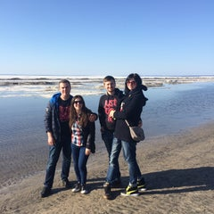 Photo taken at Wasaga Beach by Kateryna D. on 4/13/2015