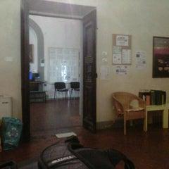 Photo taken at Ostello Santa Monaca by LaValerie on 9/23/2012