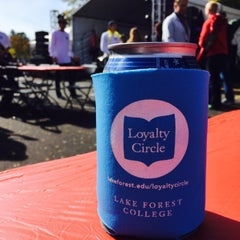 Photo taken at Lake Forest College by Christopher on 10/10/2015