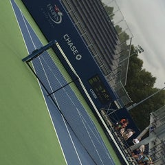 Photo taken at Court 5 - USTA Billie Jean King National Tennis Center by Georgi S. on 8/22/2014
