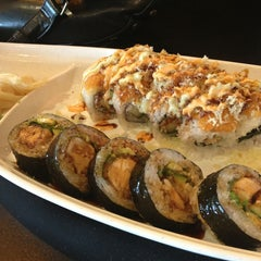 Photo taken at Wasabi Sushi Centennial by Jessica L. on 2/21/2013